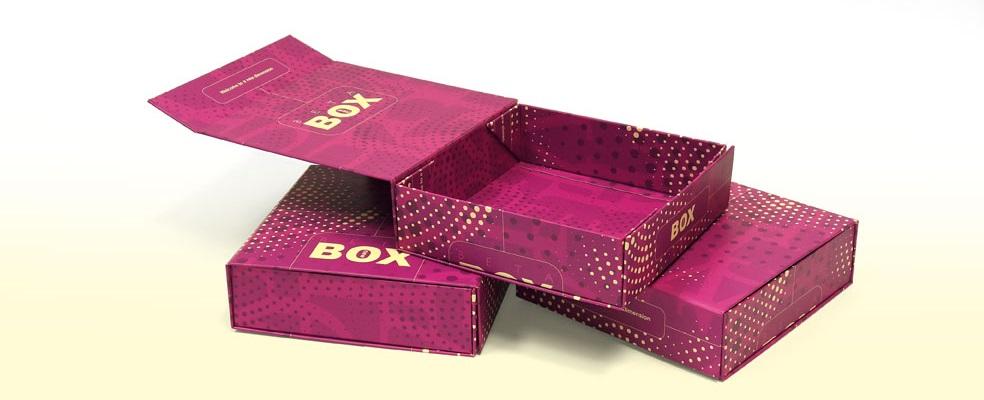 Składane pudełko Beta w oprawie twardej producent Ligatura