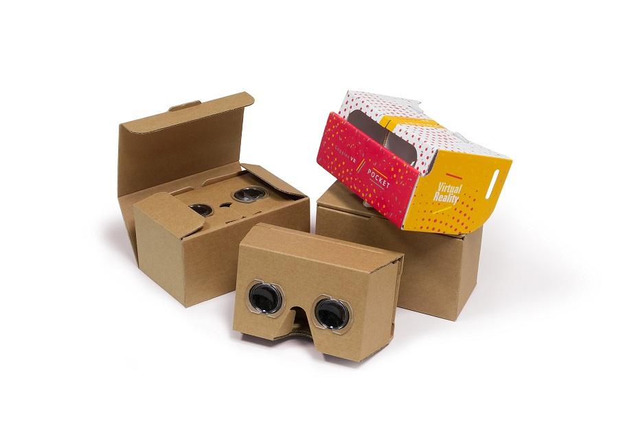 Producent Gogli VR, Cardboard, okularów 3D i stereoskopów