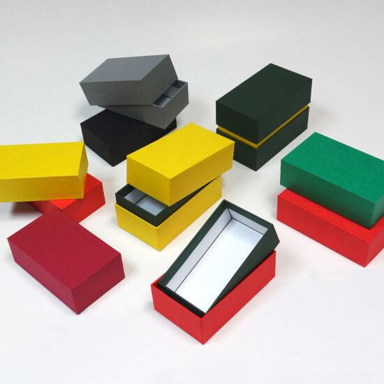 pudełka drobne wg własnego projektu