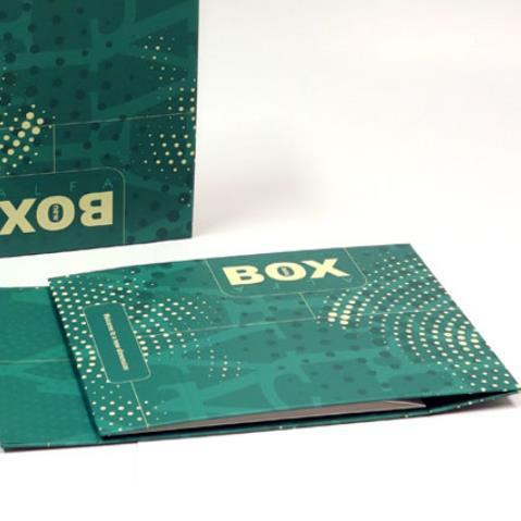 Alfa pudełko w oprawie twardej