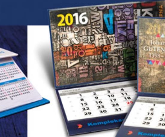 Kalendarze, Organizery, Planery