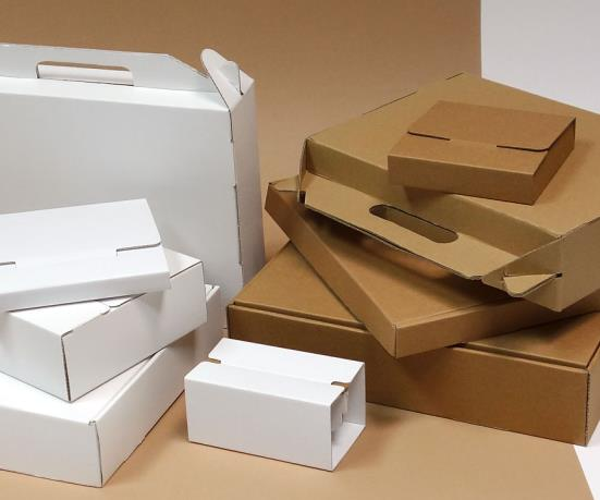 Pudełka z tektury falistej