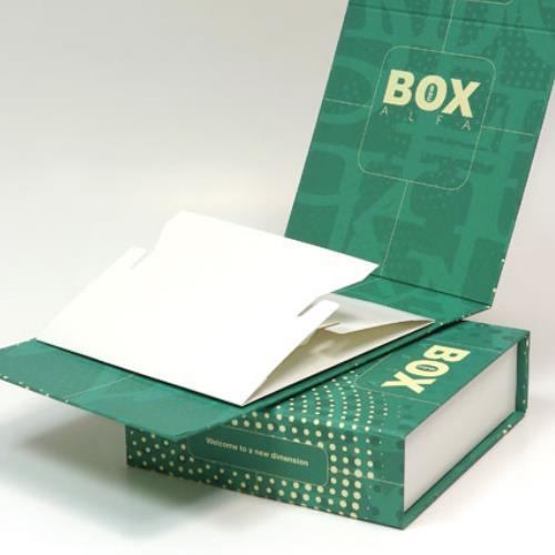 Twarda oprawa pudełka Alfa